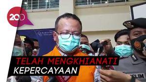 Jadi Tersangka KPK, Edhy Prabowo Minta Maaf ke Jokowi-Prabowo