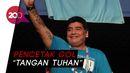 Legenda Sepakbola Argentina Diego Maradona Tutup Usia