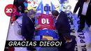 Presiden Argentina Beri Penghormatan Terakhir untuk Maradona