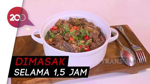 Masak Masak: Resep Sup Iga Sapi Kukus