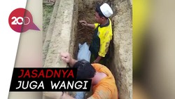 Sudah 3 Tahun Terkubur, Jasad Kiai di Sampang Masih Utuh