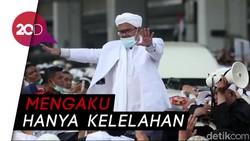 Habib Rizieq Buka Suara Soal Kesehatannya