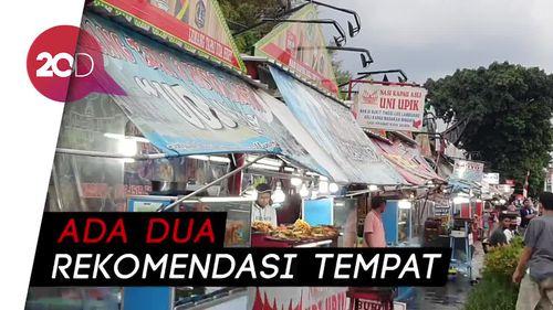 Street Food Kramat, Surganya Nasi Kapau di Jakarta