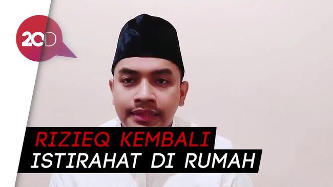 Habib Rizieq Tinggalkan RS UMMI, FPI: Kondisinya Sehat Bugar