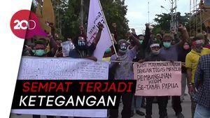 Puluhan Mahasiswa Papua di Gorontalo Unjuk Rasa