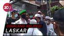 Polisi Dihadang Laskar FPI Saat Antar Surat Panggilan Habib Rizieq