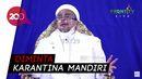 Ngaku Masih Diobservasi, Habib Rizieq Bakal Swab Secara Berkala