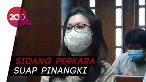 Dokter Kecantikan Bersaksi di Persidangan Pinangki