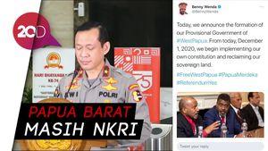 Respons Polri soal Benny Wenda Bentuk Pemerintahan Papua