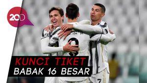 Ronaldo Sumbang Gol, Juventus Menang 3-0 dari Dynamo Kiev
