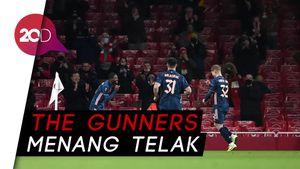 Arsenal Bantai Rapid Wien, Lacazette Cetak Gol Tendangan Geledek