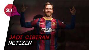 Ada Patung Messi di Barcelona, Disebut Lebih Mirip Pjanic