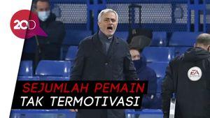 Tottenham Gagal Menang, Mourinho Meradang
