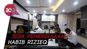 Momen Habib Rizieq di Sela Pemeriksaan, Salat Jemaah hingga Makan