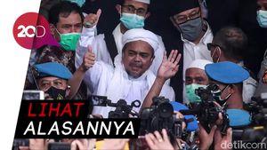 Nasib Penahanan Habib Rizieq Ada di Tangan Penyidik