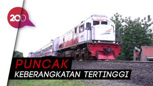 Jelang Nataru, 16.700 Orang Tinggalkan Jakarta Naik Kereta