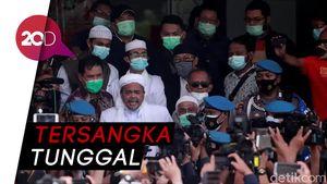 Polisi Tetapkan Habib Rizieq Tersangka Kasus Kerumunan Megamendung