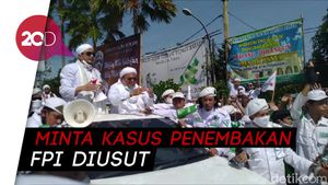 Jadi Tersangka Kasus Kerumunan Megamendung, Habib Rizieq Tak Masalah