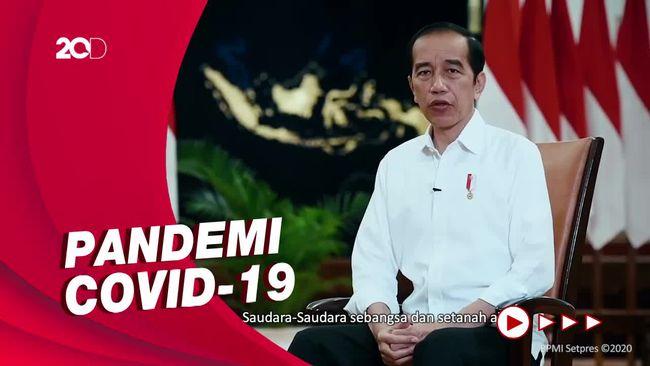 Jokowi: Tahun 2020 Krisis Terberat dalam Sejarah Dunia