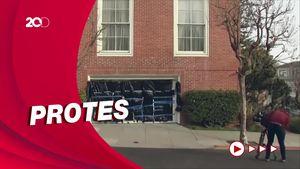 Kediaman Pejabat Senat dan DPR AS Jadi Sasaran Vandalisme