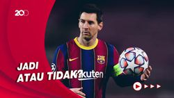 Bos Manchester City Ditanya Transfer Lionel Messi