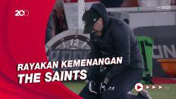 Kalahkan Liverpool, Manajer Southampton Terharu Keluarkan Air Mata