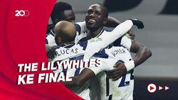 Tottenham Melaju ke Final Liga Inggris Usai Bungkam Brentford