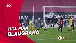 Barcelona Bekuk Athletic Bilbao, Messi Dua Gol