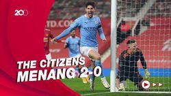 Gasak MU 2-0, Man City ke Final Piala Liga Inggris