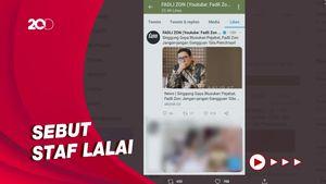 Kala Akun Medsos Fadli Zon Diviralkan Like Bokep