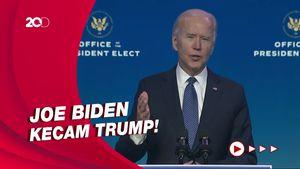 Kerusuhan di Capitol, Joe Biden: Hari Tergelap dalam Sejarah AS