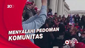Diduga Picu Kericuhan Capitol, TikTok Hapus Video Donald Trump