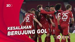 Bayern Munich Kalah Karena Kesalahan Sendiri