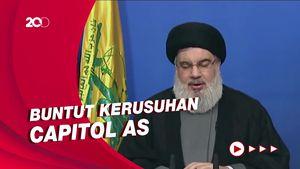 Hizbullah Sebut Trump Bodoh dan Rela Membunuh Demi Kekuasaan