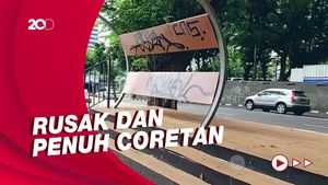 Potret Taman-Trotoar di Seberang KBB BNI City yang Bikin Miris