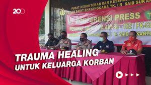Keluarga Korban Sriwijaya Air SJ182 Dapat Pendampingan Trauma Healing