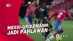 Messi-Griezmann Bawa Barcelona Menang 4-0 atas Granada