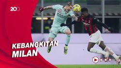 AC Milan Taklukkan Torino 2-0, Jadi Teratas di Klasemen Liga Italia