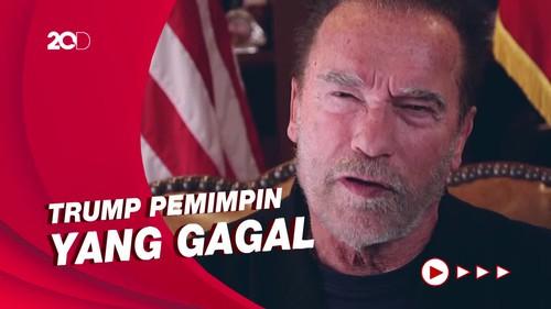 Arnold Schwarzenegger: Trump Presiden Terburuk yang Pernah Ada