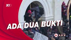 Dua Polisi AS Diskors, Diduga Terlibat Kerusuhan di Capitol