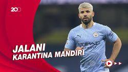 Manchester City Masih Tanpa Aguero karena Covid-19
