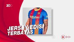 Bocoran Jersey Khusus Barcelona untuk El Clasico