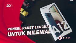 Unboxing dan Review Samsung Galaxy A12 Rp 2 Jutaan