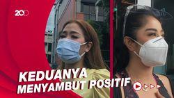 Respons Dewi Perssik dan Vega soal Vaksinasi Perdana di Indonesia