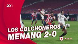 Menang 2-0 Atas Sevilla, Atletico Nyaman di Puncak