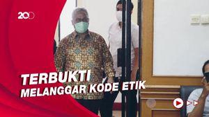Gegara Lampaui Kewenangan, Arief Budiman Dipecat dari Ketua KPU
