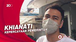 Puji Syukur Raffi Ahmad Disuntik Vaksin Pertama Berujung Hujatan