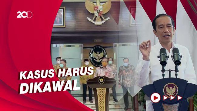 Kasus Laskar FPI, Jokowi ke Komnas HAM: Jangan Ada yang Disembunyikan