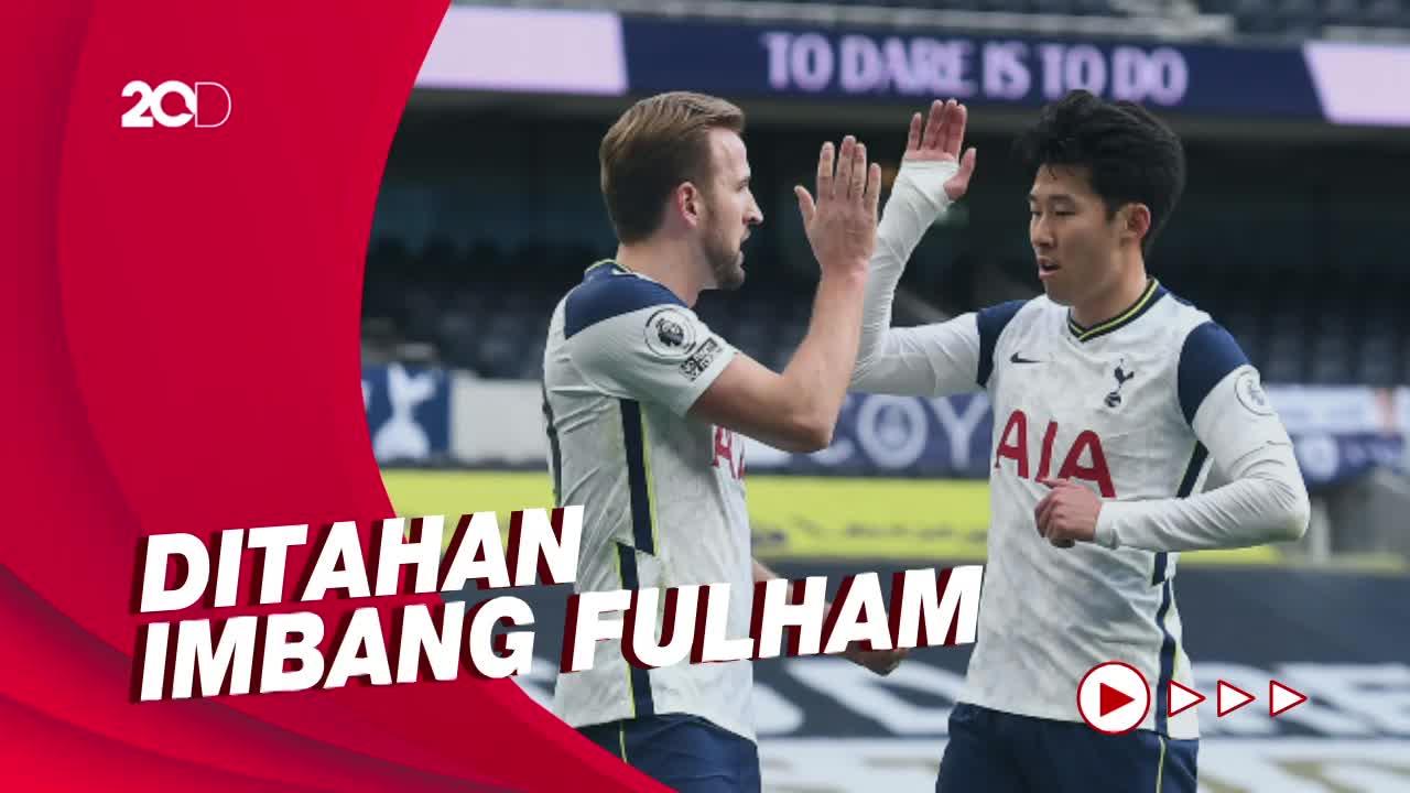 Tottenham Tertahan di Kandang
