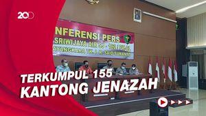 Tim DVI Terima 140 Sampel DNA untuk 62 Korban Sriwijaya Air SJ182